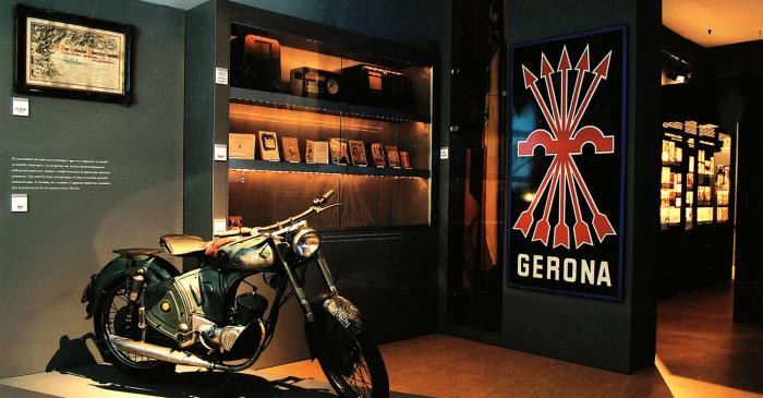 <p>Detalle de las salas dedicadas a la Guerra Civil y al franquismo.</p>