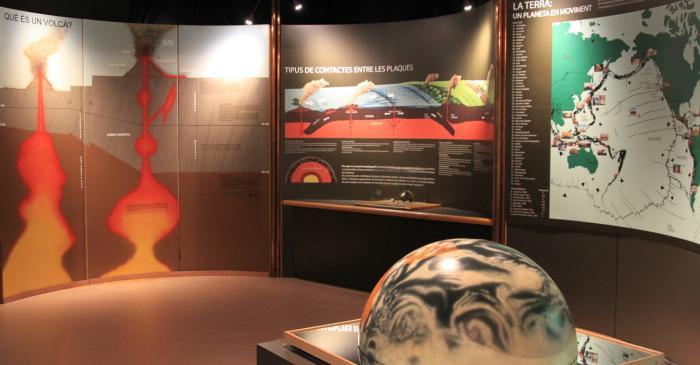 <p>Vista de la sala de terremotos y volcanes.</p>