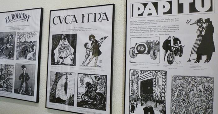 <p>Dans le mus&eacute;e sont expos&eacute;s quelques-uns des dessins Aragay publi&eacute;s dans les principaux magazines et hebdomadaires satiriques du pays.</p>