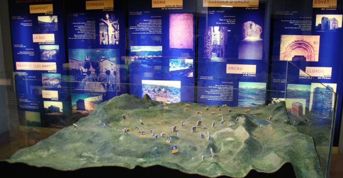 <p>Planta baja del Museo de la Conca Dell&agrave;.</p>