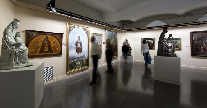 <p>Nigra Sum, la sala dedicada a la Mare de D&eacute;u.</p>