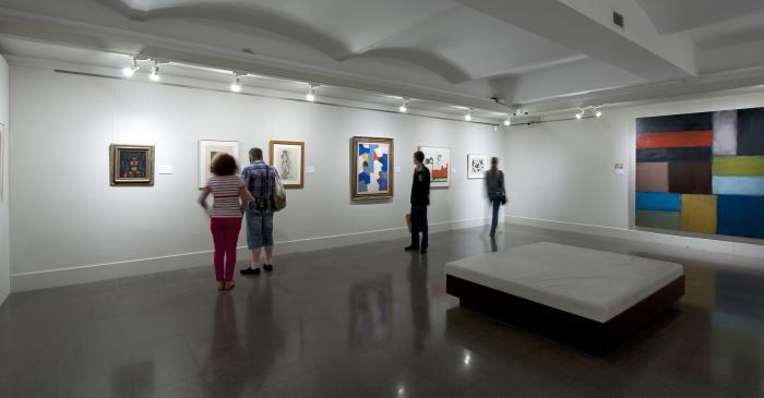 <p>Salle d&rsquo;art contemporain.</p>