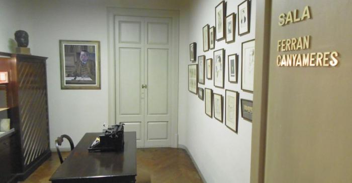 <p>Salle Ferran Canyameres. Photo&nbsp;: Mus&eacute;e de Terrassa</p>
