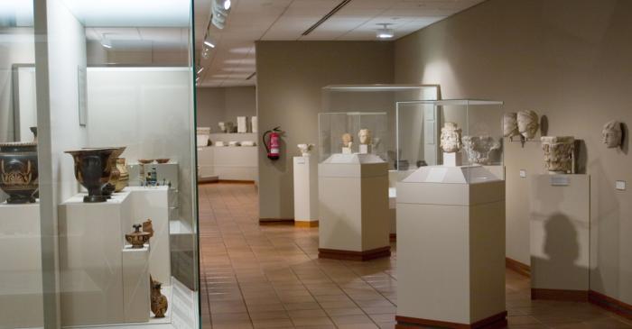 <p>Sala d&rsquo;Arqueologia del Museu Episcopal de Vic</p>