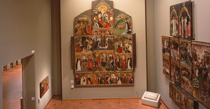 <p>Pati g&ograve;tic del Museu Episcopal de Vic</p>