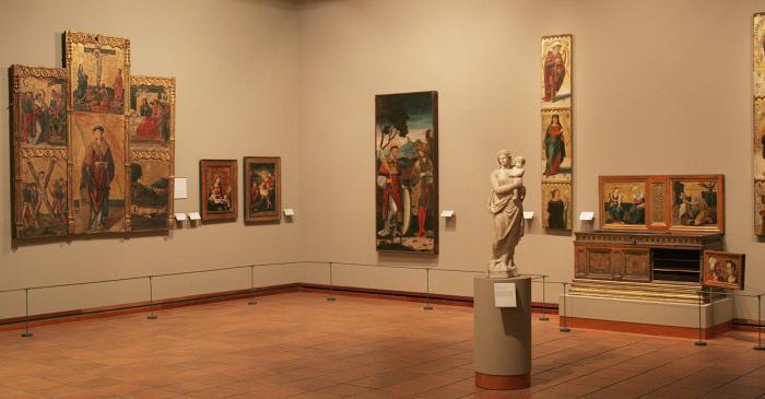 <p>Sala de pintura i escultura del segle XVI</p>