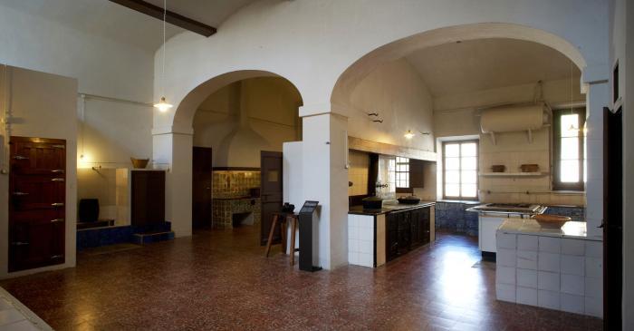 <p>Convent kitchen</p>