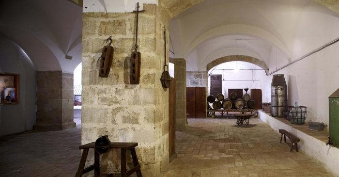 <p>The convent storeroom</p>