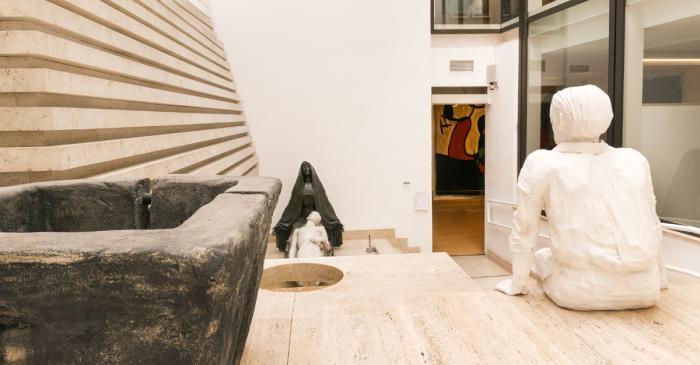 <p>Patio del Museo de Arte Moderno de la Diputaci&oacute;n de Tarragona</p>