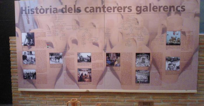 <p>Arbre généalogique des potiers de la Galera avec deux familles principales : les Bort et les Rodríguez, aujourd'hui Cortiella</p>