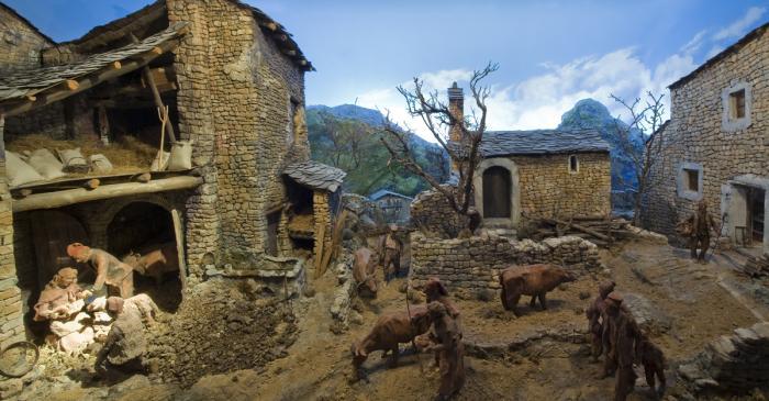 <p>El Museo de la Vida Rural cuenta con una singular colecci&oacute;n de belenes.</p>