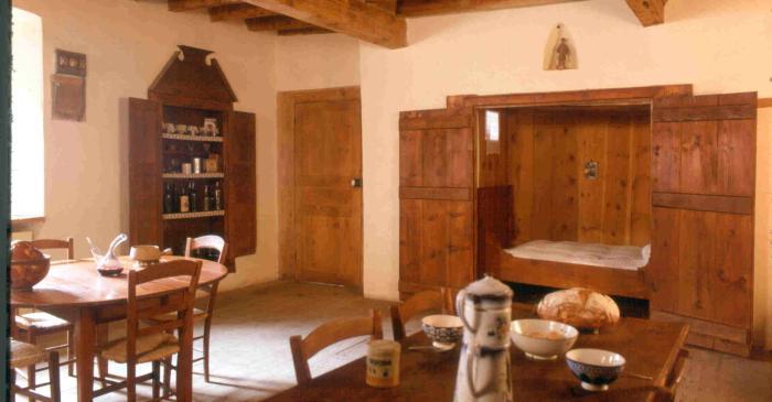 <p>La cuisine, un espace de travail et de lien social</p>
