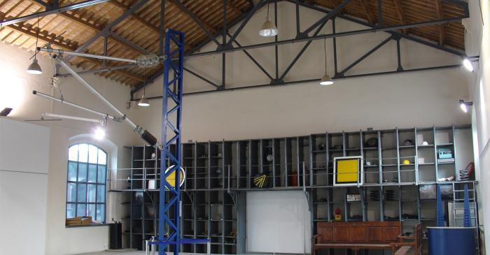 <p>Interior temporary exhibition room.</p>