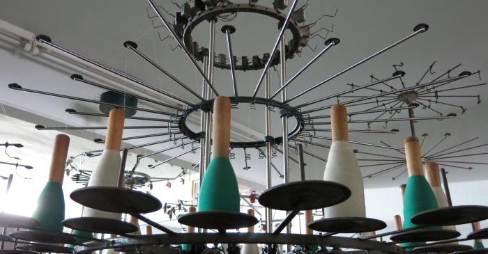 <p>Aper&ccedil;u de la salle des m&eacute;tiers &agrave; tricoter de la Fondation Jaume Vilaseca dans la rue Baldomer Vila (Matar&oacute;)</p> <p>&copy; Mus&eacute;e de Matar&oacute;</p>