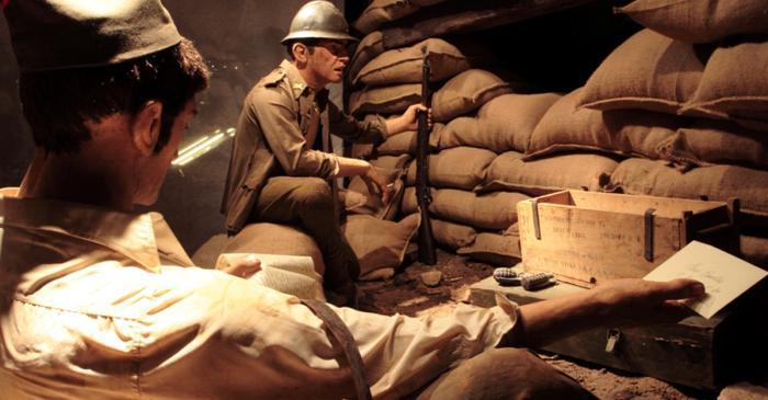 <p>Milers de projectils van sembrar de mort i destrucci&oacute; l&rsquo;immens camp de batalla de l&rsquo;Ebre.</p>