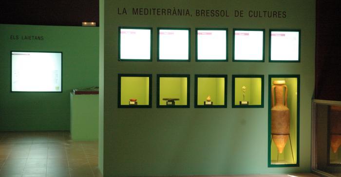 <p>Sala dedicada a la cultura ib&egrave;rica</p>