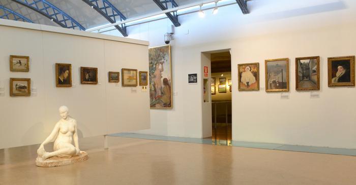 <p>Sala que acull les obres del per&iacute;ode modernista.</p>