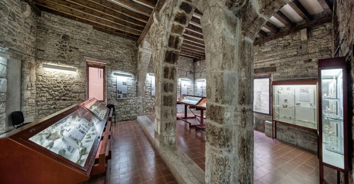 <p>La sala de Paleolític (Arqueoxarxa, Josep Casanova)</p>
