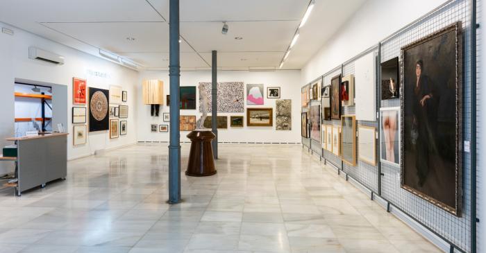 Àmbit 2. Sala d'exposicions de la planta baixa de l'Av. Blondel 40
