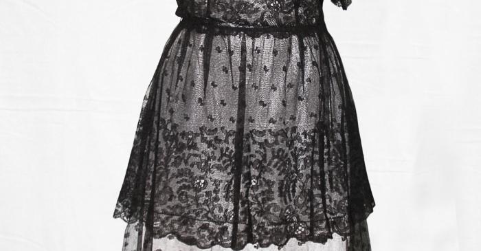 <p>Lace&nbsp;dress. Photo: Irene Masriera.</p>