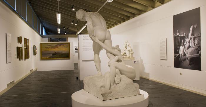<p>&nbsp;Gallery dedicated to the&nbsp;Catalan Modernism. Photo: Blai Farran.</p>