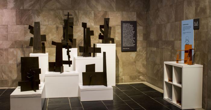 <p>Gallery dedicated to post-war artists. Photo: Blai Farran.</p>