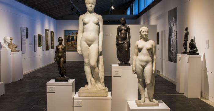 <p>Gallery dedicated to the sculptor Josep Clar&agrave;. Photo: Blai Farran.</p>