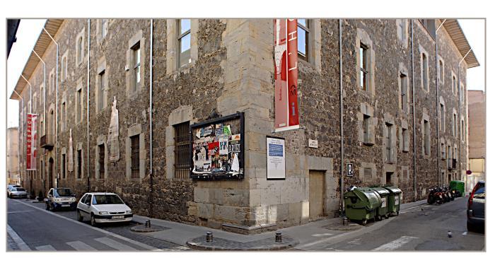 <p>Photograph of Olot Hospice (18th century), site of the Museum of La Garrotxa</p>