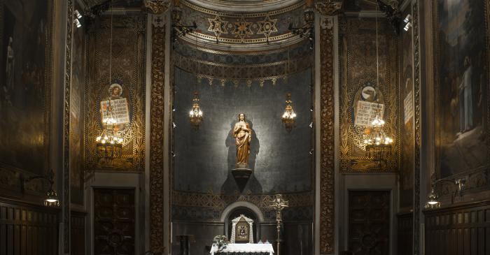 <p>Fotografia de la Capella del Sagrament. Autor: Ramon Manent</p>