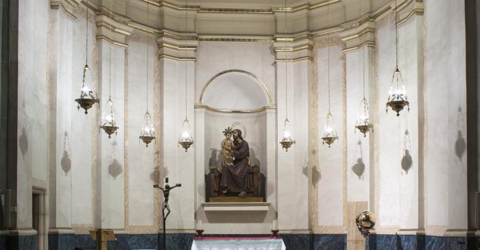 <p>Fotografia de la Capella de Sant Josep. Autor: Ramon Manent</p>