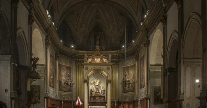 <p>Photo of the presbytery. Author: Ramon Manent</p>