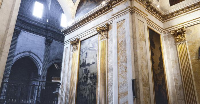 <p>Photographie de la Chapelle des Saintes. Auteur&nbsp;: Ramon Manent</p>