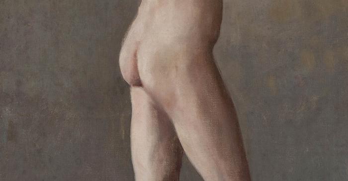 <p><strong>Santiago Rusi&ntilde;ol i Prats (Barcelona, 1861 &ndash; Aranjuez, 1931)</strong></p> <p><em>Nu mascul&iacute;.</em> Par&iacute;s, 1891-1892</p> <p>Oli sobre tela</p> <p>Museu del Cau Ferrat, Sitges</p>