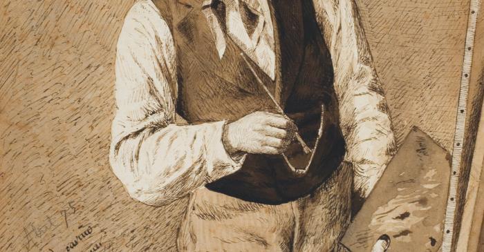 <p><em>Retrat d&rsquo;Alexandre de Riquer</em>, 1875</p>