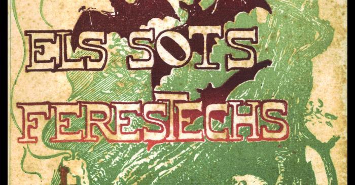 <p>Coberta per a <em>Els sots fer&eacute;stechs</em>, de Raimon Casellas. Barcelona, Tobella &amp; Costa, 1901</p> <p>&nbsp;</p>