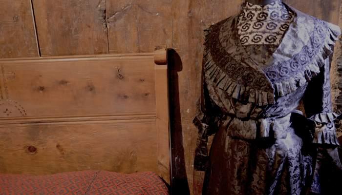 <p>El mismo vestido que se usaba para la boda tambi&eacute;n se utilizaba para el entierro.</p>