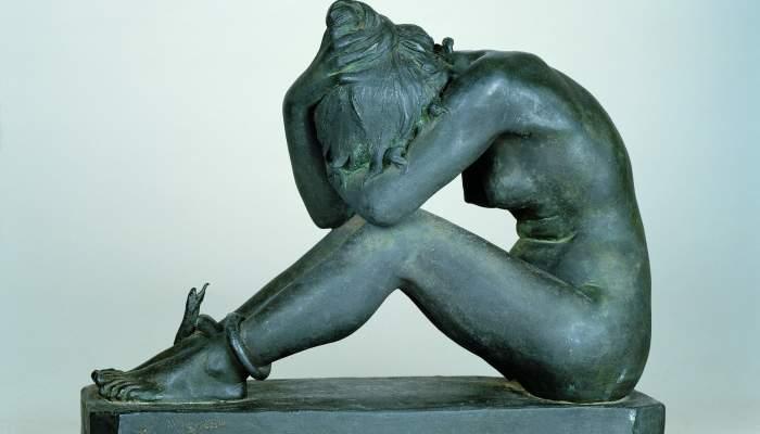 <p>Desesperaci&oacute;, 1899.</p>