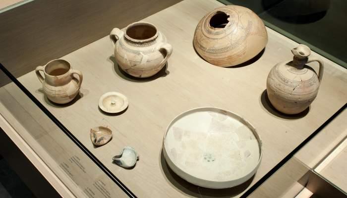 <p>Ensemble de vaisselle originaire du gisement de Solibernat (Torres de Segre).</p>