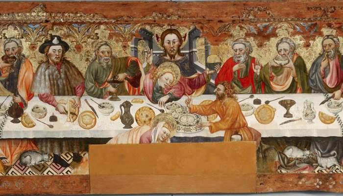 <p>Sant Sopar, procedent de l&rsquo;esgl&eacute;sia de Santa Constan&ccedil;a de Linya (Nav&egrave;s, Solson&egrave;s), s. XV.</p>