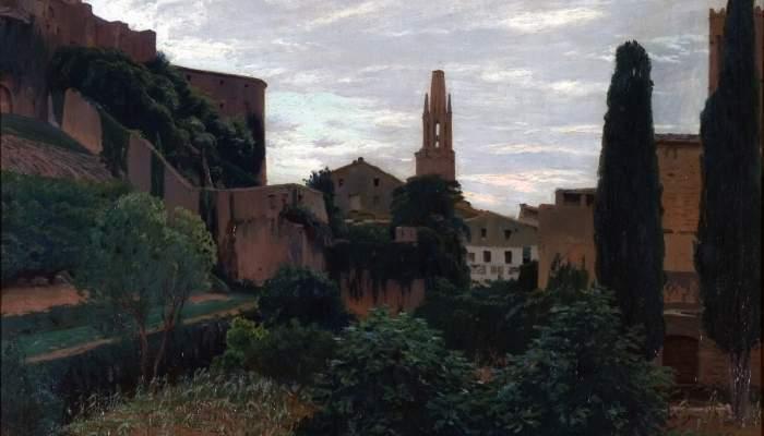 <p>Girona, Santiago Rusi&ntilde;ol i Prats, 1915. Oli sobre tela, 93 x 123&nbsp; cm. Museu d&#39;Art de Girona - Fons d&#39;Art Diputaci&oacute; de Girona.</p>