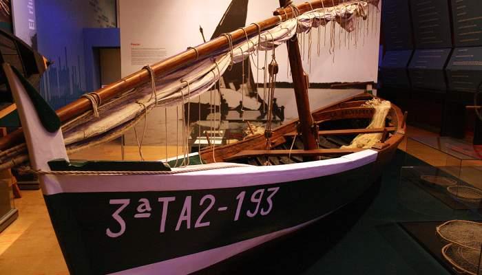 <p>Muleta «Salvadora» (barque «La Sauveuse») construite à Tortosa, Baix Ebre, en 1912.</p>