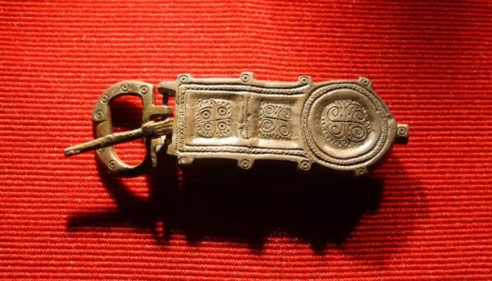 <p>Visigothic buckle</p>