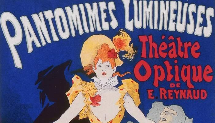 <p>Cartel Pantomimas Lumineuses. Th&eacute;&acirc;tre Optique de &Eacute;mile Reynaud (1892).</p>