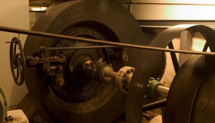 <p>La turbina Francis genera 90 CV. La paraula turbina ve del llatí<em> turbo –inem</em>, que significa rotació o gir. ©Pep Botey.</p>