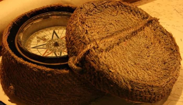 <p>Agulla o br&uacute;ixola d'un pescador de principis del segle XIX.</p>