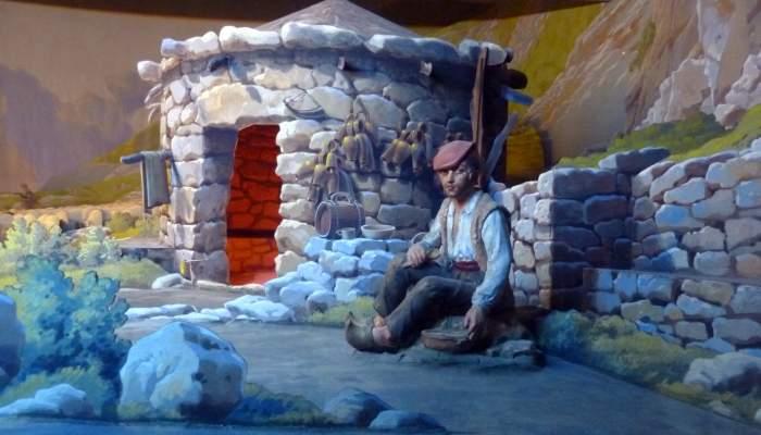<p>Diorama des bergers.</p>