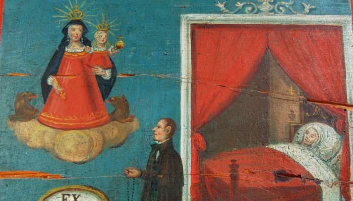 <p>Ex-voto altarpieces.</p>