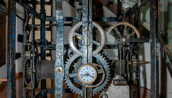 <p>Rellotge de la catedral, Joan Agust&iacute; i Juli&agrave; Juli&agrave;, segles XV - XVIII.</p>