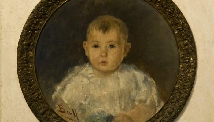 <p><em>Nen.</em> Joan Brull (Barcelona 1863 - 1912).</p>