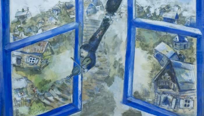 <p><em>El violinista celest</em>, 1934. Marc Chagall (V&iacute;tsiebsk, 1887 &ndash; Saint-Paul de Vence, 1985). Guaix.</p>